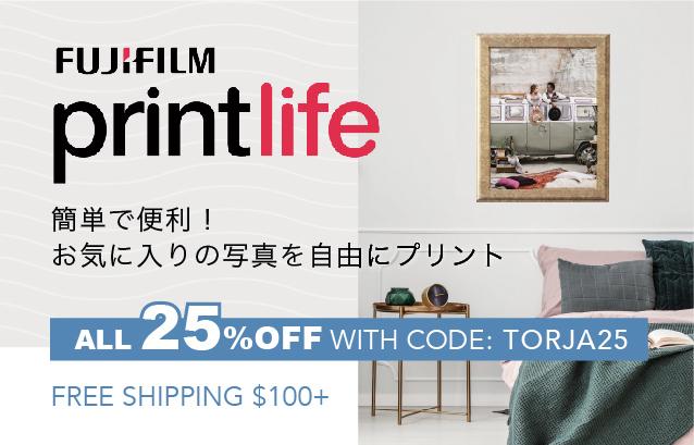 簡単で便利!お気に入りの写真を自由にプリント【25% OFF WITH CODE: TORJA25 | FREE SHIPPING $100+】| FUJIFILM printlife