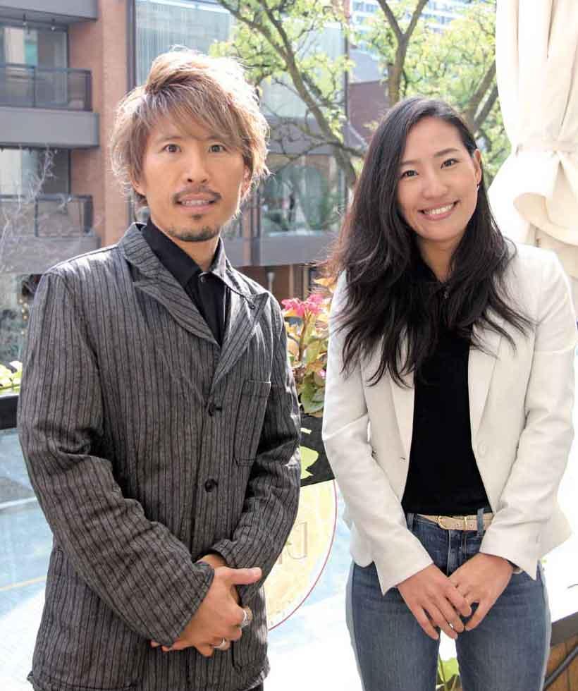 ヒロさん(左)と篠山さん(右)