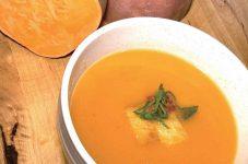 【2皿目】冬のファーマーズマーケットでよく見かける「Sweet Potato & Apple Cider Soup」 イケメン・イクメン・フレンチシェフが教えるカナダでクッキング