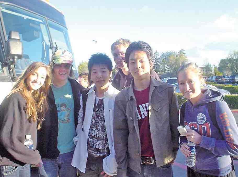 高校時代:カリフォルニアでの交換留学