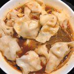 リトル中華街で食すワンタンと牛肉が乗ったピリ辛スープ春雨|トロントB級グルメ王の百味飲食
